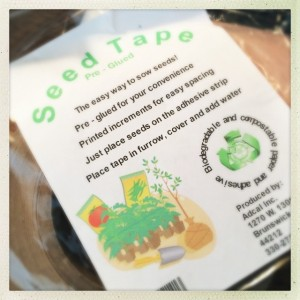 -- Do I love Seed Tape or what?! --